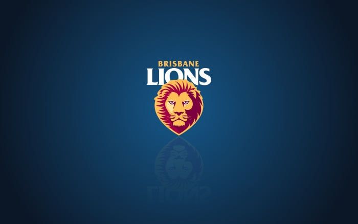 Brisbane Lions wallpaper, background, background with logo - 1920x1200 px