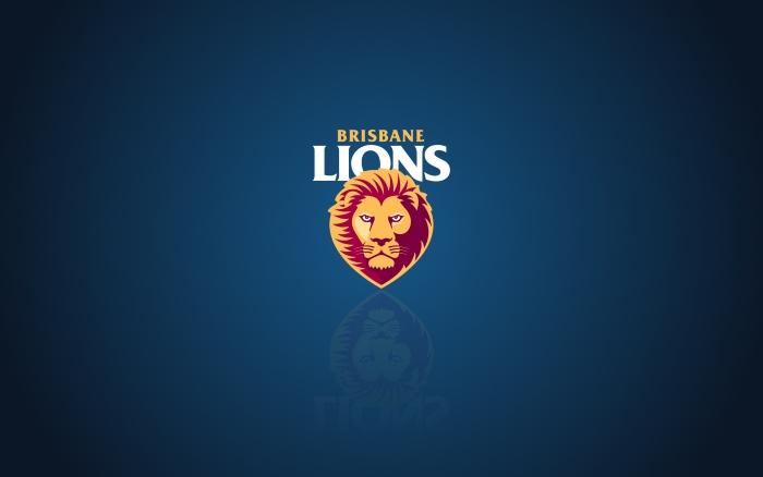 Brisbane Lions wallpaper, background, background with logo - 1920x1200 px