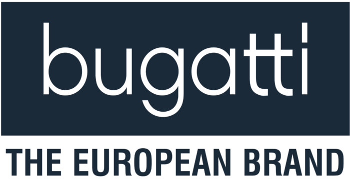 Bugatti shoes logo, logotype