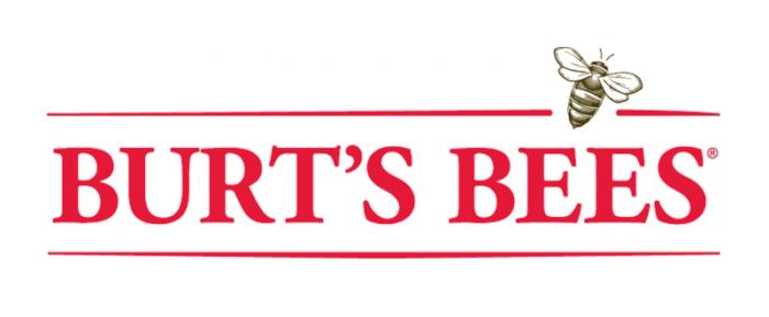 Burt's Bees logo, white