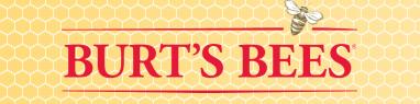 Burt's Bees logo and background