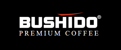 Bushido Coffee logo, black