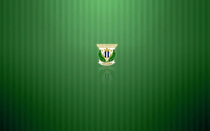 CD Leganés green wallpaper with logo, logotipo-background 1920x1200