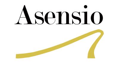 Calzados Asensio logo, white bg