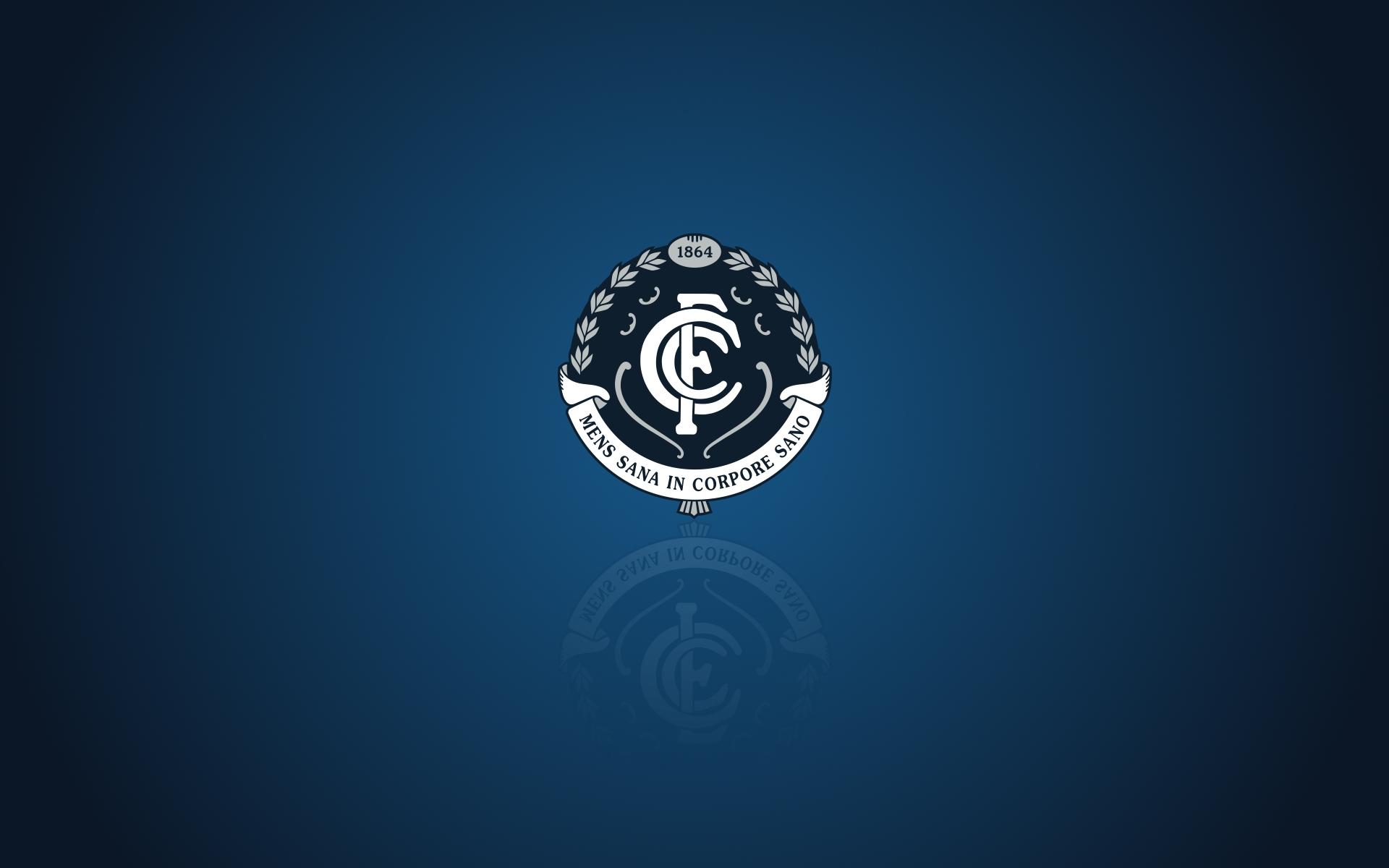 Carlton Blues Wallpaper Widescreen Desktop Background With Team Logo