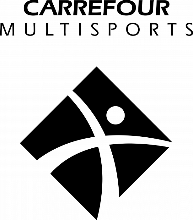 Carrefour Multisports logo black