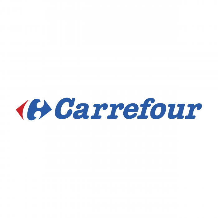 Carrefour logo blue