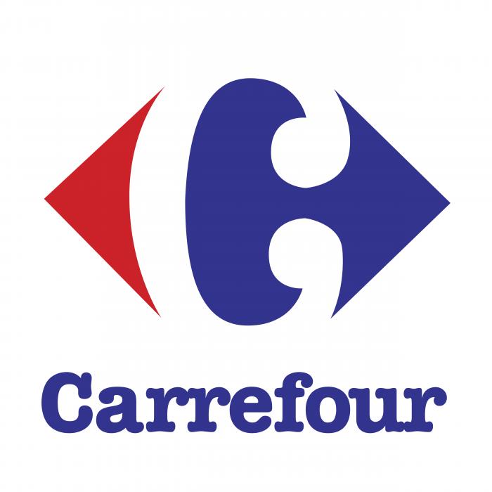Carrefour logo brand