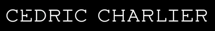 Cedric Charlier logo, black