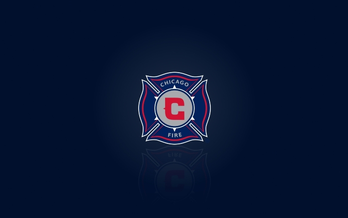 Chicago Fire desktop wallpaper, blue background - 1920x1200 px