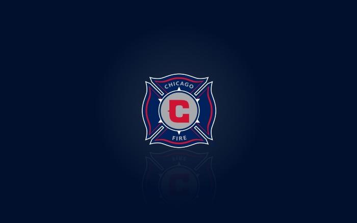 Chicago Fire desktop wallpaper, blue background - 1920x1200 px