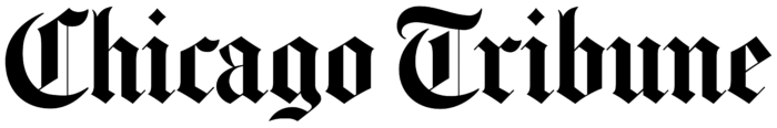 Chicago Tribune logo, black