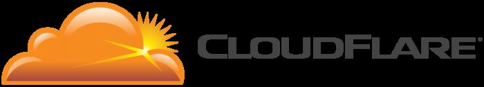 CloudFlare logo, logotype