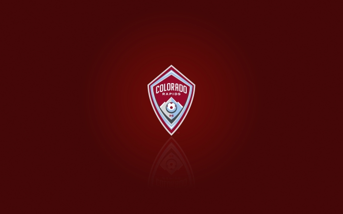 MLS club Colorado Rapids desktop background and widescreen HD wallpaper with logo 1920x1200