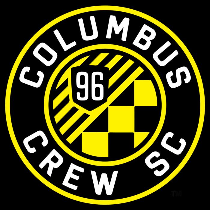 Columbus Crew SC logo, bright