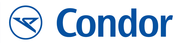 Condor Airlines logo, blue-white
