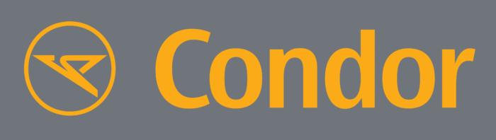 Condor logo, gray