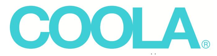 Coola logo, logotype