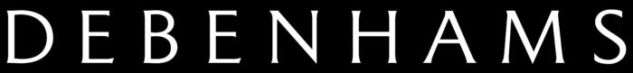 Debenhams logo, black
