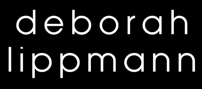 Deborah Lippmann logo, black
