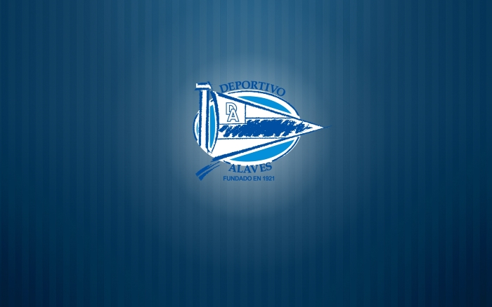 Deportivo Alaves wallpaper with logo, logotipo, widescreen, full size is 1920x1200px