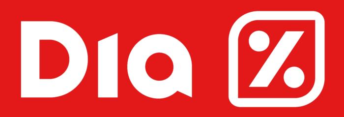 Dia logo, red