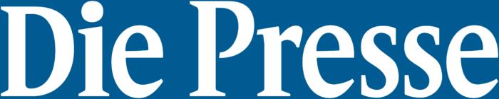 Die Presse logo, blue