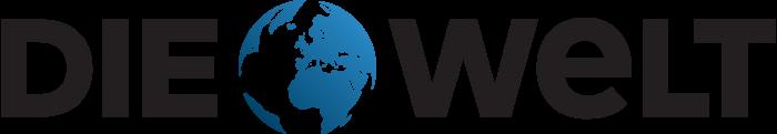 Die Welt logo, wordmark