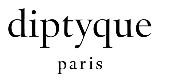 Diptyque logo, black