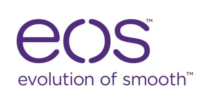 EOS logo, white