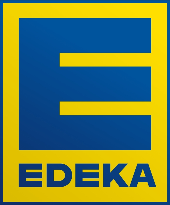 Edeka logo, with gradient