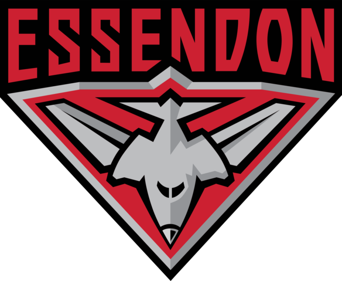 Essendon Bombers logo, darker version