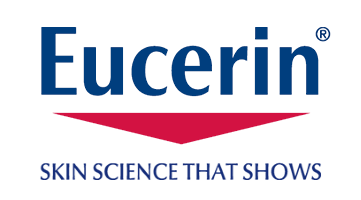 Eucerin logo and slogan