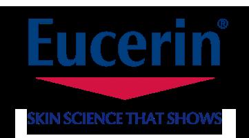 Eucerin logo and slogan