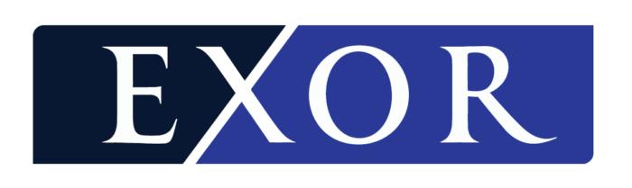 Exor logo, white bg