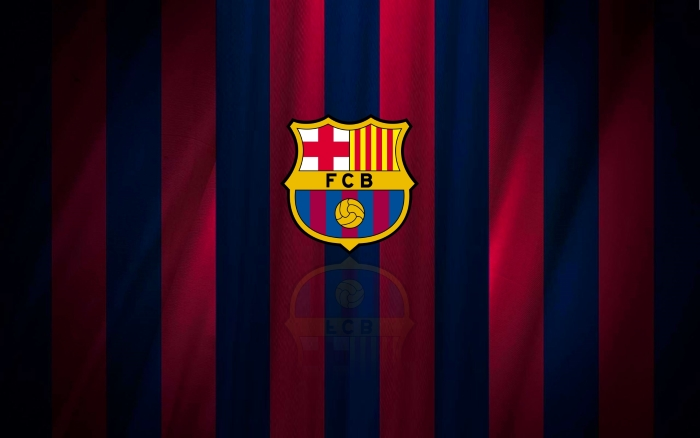 FC Barcelona wallpaper with club logo 1920x1200px