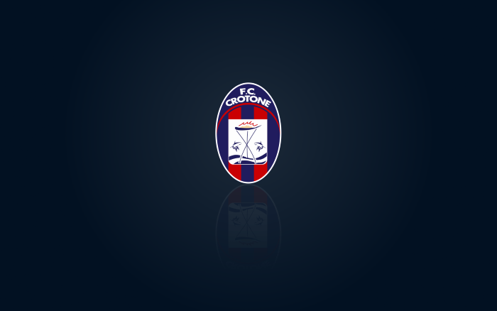 FC Crotone wallpaper with logo - 1920x1200px