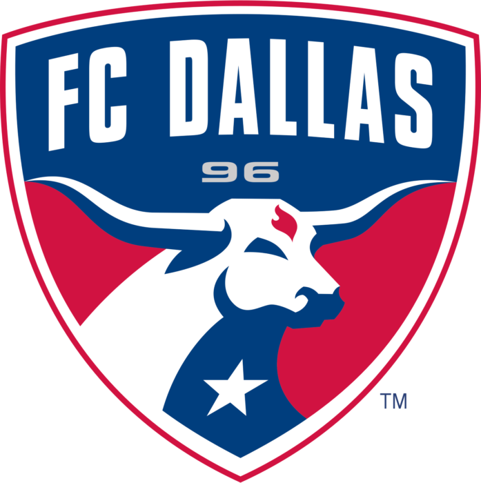 FC Dallas logo, logotype, emblem