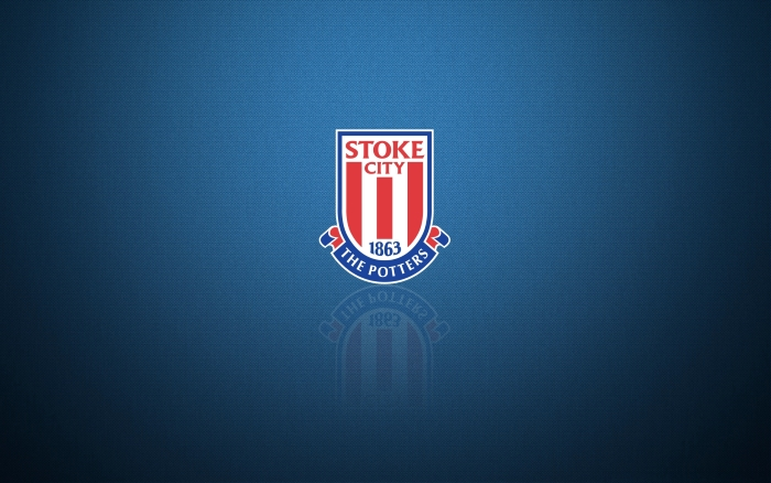 FC Stoke City wallpaper with logo 1920x1200