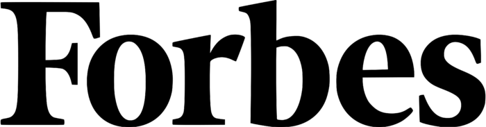 Forbes logo, black