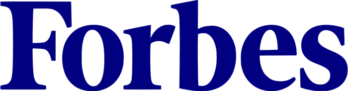 Forbes logo, blue