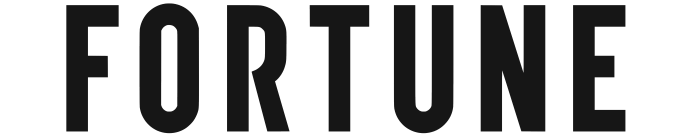 Fortune logo, wordmark