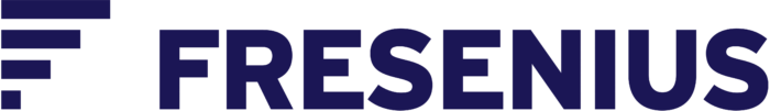 Fresenius logo, dark blue