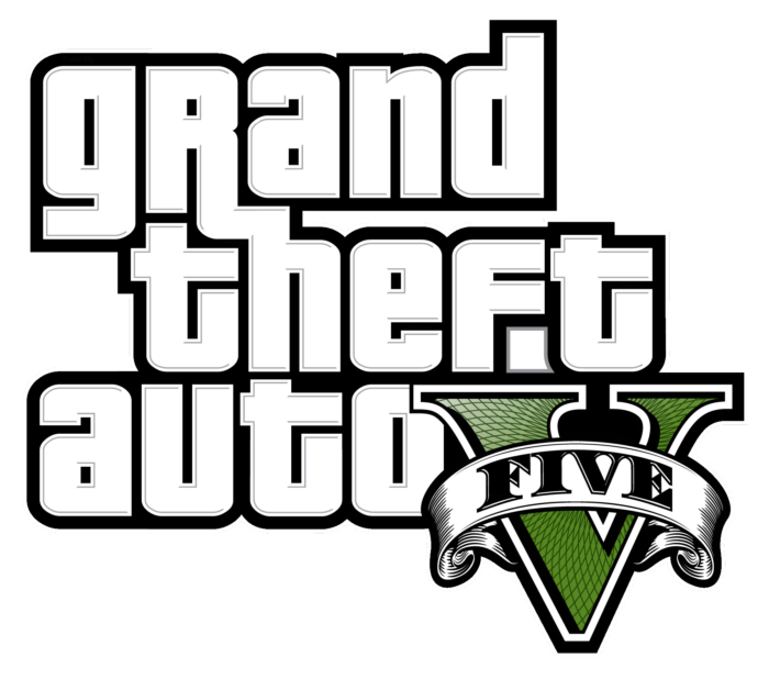 GTA five logo (without gray color)