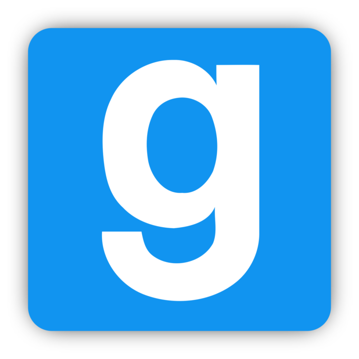 Garry's Mod logo, logotype, icon