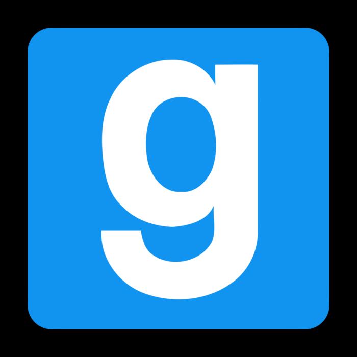 Garry's Mod logo, logotype, icon