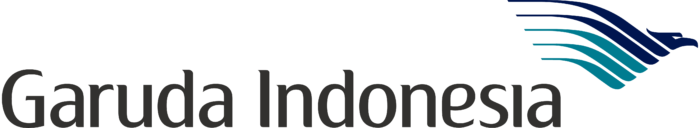 Garuda Indonesia logo, white bg