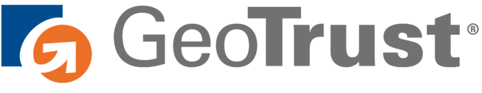 GeoTrust logo, white bg