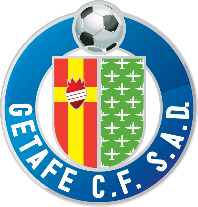 Getafe CF logo, logotipo