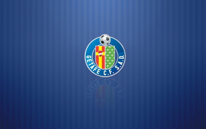 Getafe CF wallpaper with logo, desktop PC background with logotipo - 1920x1200px